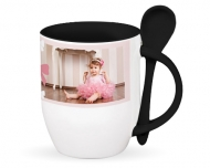 Mug with spoon, Sweet Moments