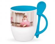 Mug with spoon, Sweet Moments