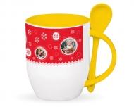 Mug with spoon, Magical Time