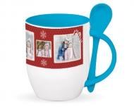 Mug with spoon, Our loveliest Christmas