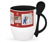 Mug with spoon, Our loveliest Christmas