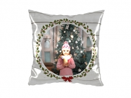 Pillow, cotton, The loveliest Christmas, 25x25 cm
