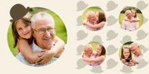 Photo book Beloved Grandpa, 20x20 cm