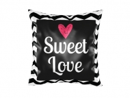 Pillow, cotton, Sweet Love, 38x38 cm