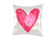 Pillow, cotton, Little Heart, 38x38 cm