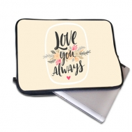 Laptop case 10', Love