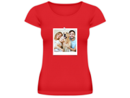 T-shirt women's, A photo print on a T-shirt