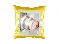 Pillow, suede, Teddy-Bear Dreams, 40x40 cm