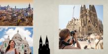 Photo book Our Eurotrip, 20x20 cm