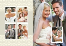 Photo book Wedding Keepsake, 20x30 cm