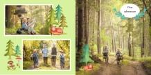 Photo book Kid's hobbies, 20x20 cm