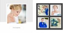 Photo book Wedding album, 20x20 cm