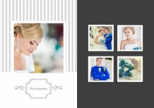 Photo book Wedding album, 20x30 cm