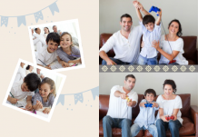 Photo book Family Get-Togethers, 20x30 cm