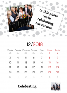 Calendar, A Calendar For Your Company, 20x30 cm