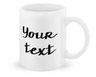 Mug, Your Text