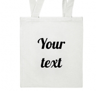 Bag, 50x50, Your Text
