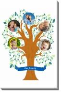 Canvas, Family Tree, 20x30 cm