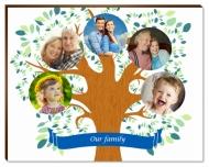 Photopanel, Family Tree, 18x13 cm