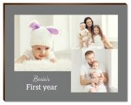 Photopanel, First Year, 18x13 cm