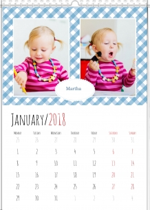 Calendar, Toddler's Calendar, 30x40 cm