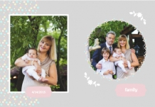 Photo book Christening, 20x30 cm
