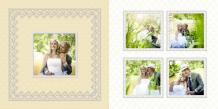 Photo book Wedding of Dreams, 20x20 cm