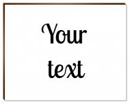 Photopanel, Your Text, 18x13 cm