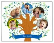 Photopanel, Family Tree, 15x10 cm