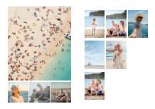 Photo book Mosaic memories, 20x30 cm