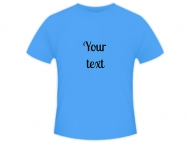 T-shirt men's, Your Text