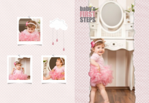 Photo book Little Princess' Beautiful Moments, 20x30 cm