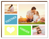 Photopanel, Together Forever, 18x13 cm