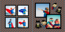 Photo book Little Superhero, 20x20 cm