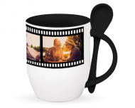 Mug with spoon, Moviegoer's Mug
