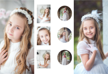 Photo book Your First Communion Design, 20x30 cm