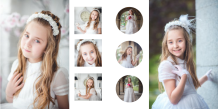 Photo book Your First Communion Design, 20x20 cm