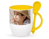 Mug with spoon, Create from Scratch