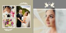 Photo book Wedding, 20x20 cm