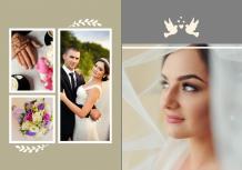Photo book Wedding, 20x30 cm