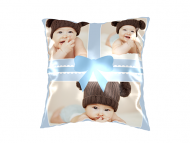 Pillow, cotton, Baby's Cushion, 25x25 cm