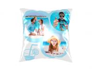 Pillow, cotton, Crazy Summer, 25x25 cm