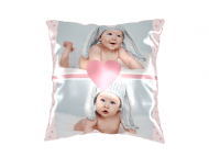 Pillow, cotton, Lovely Baby, 25x25 cm