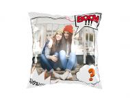Pillow, cotton, Comic strip, 25x25 cm