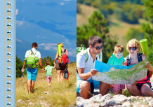 Photo book Our Mountain Hiking Trails, 20x30 cm