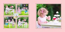 Photo book Kids Games, 20x20 cm