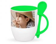 Mug with spoon, Your Design