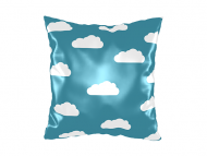 Pillow, cotton, With one's head in the clouds, 25x25 cm