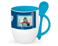 Mug with spoon, Sweet Kindergarten Memories