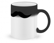 Magical mug, Moustache